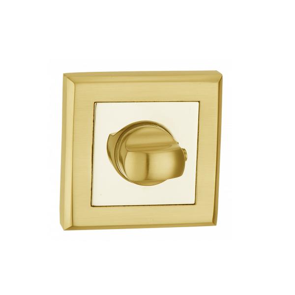 Фиксатор дверной T7 PB (золото)