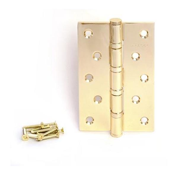 Петля APECS 125 мм G (золото)