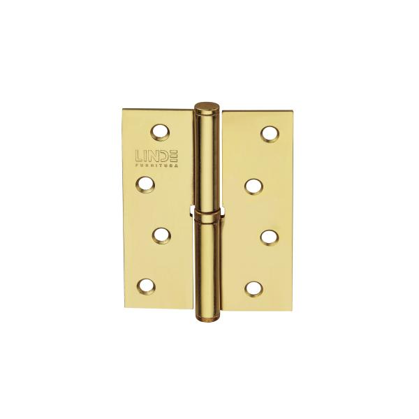 Петля съемная H-100L (R) PB (золото)