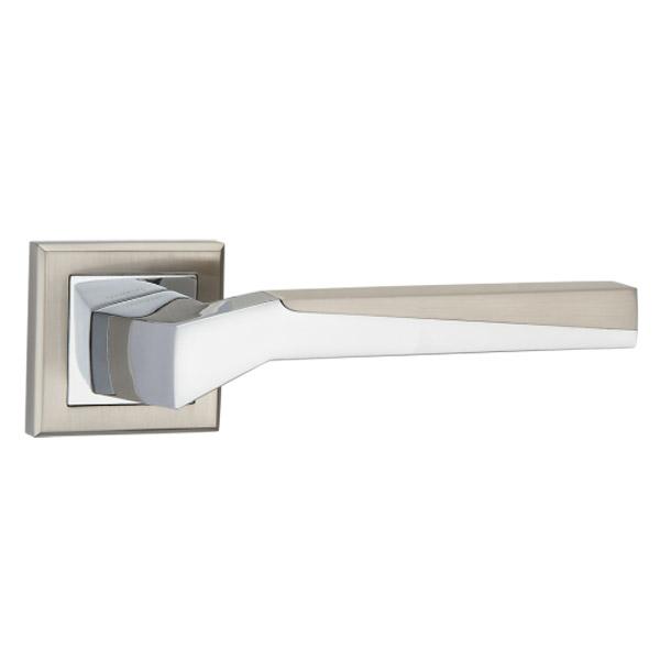 Дверная ручка Linde Z-1319 SN/CP (хром)