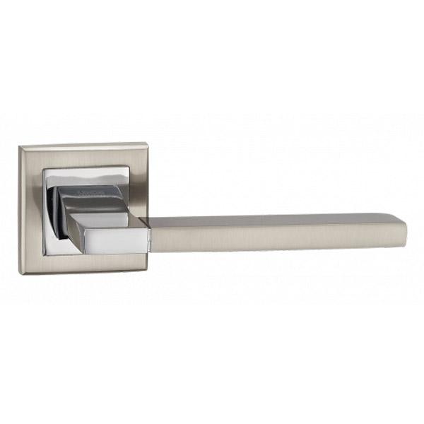 Дверная ручка Linde A-2008 SN/CP (хром)