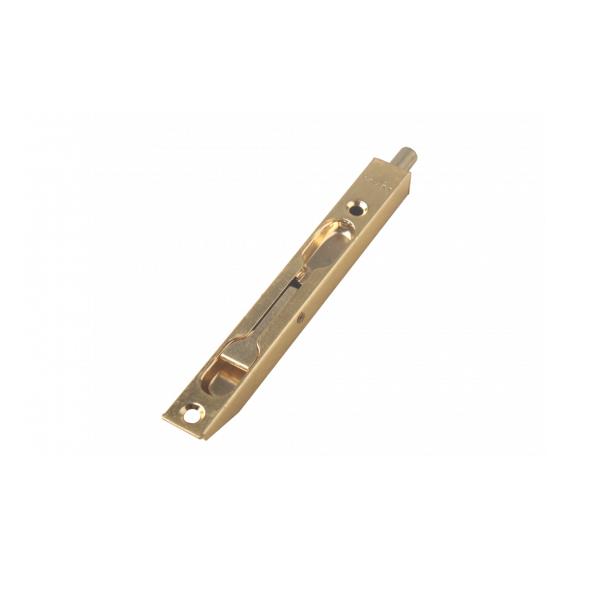 Шпингалет дверной С-140 SB (золото)