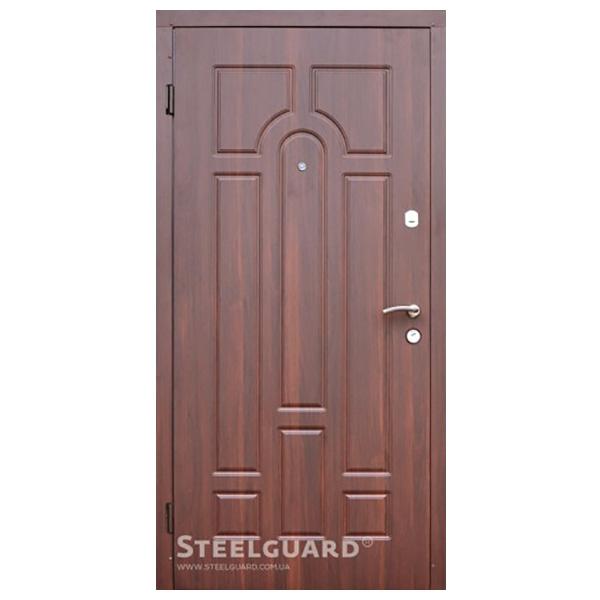 """Входная дверь Steelguard """"DR 27"""" (Темный орех)"""