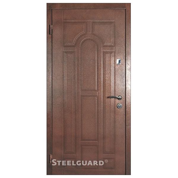 "Входная дверь Steelguard ""ПК М 149 DK"" (RAL 8019)"