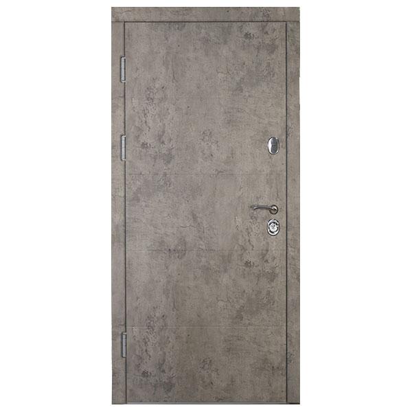 Входная дверь VD Алиса Базальт лофт (внутри зеркало)