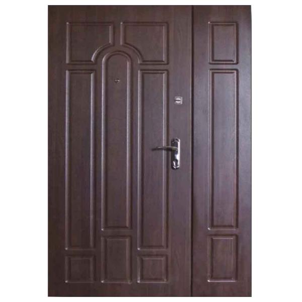 """Входная дверь VD """"Арка полуторная"""" (темный орех)"""