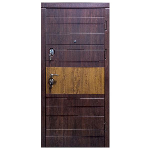 Входная дверь VD Комби (вишня мореная)