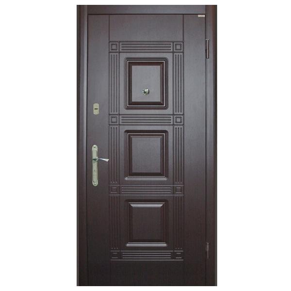 Входная дверь VD Квадро эко (венге)