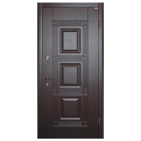 """Входная дверь VD """"Квадро +"""" (венге)"""