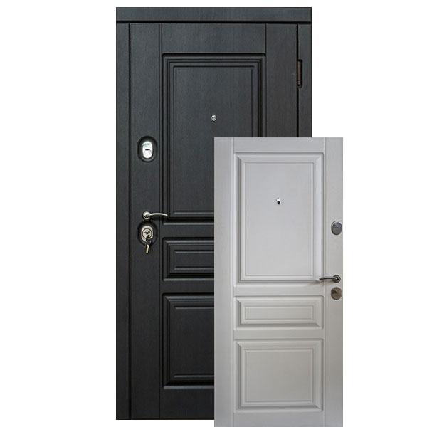 Входная дверь VD Прайм (венге южное/белое дерево)