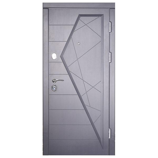 Входная дверь VD Айсберг (графит)