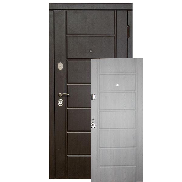 Входная дверь VD Канзас + (венге/сосна прованс)