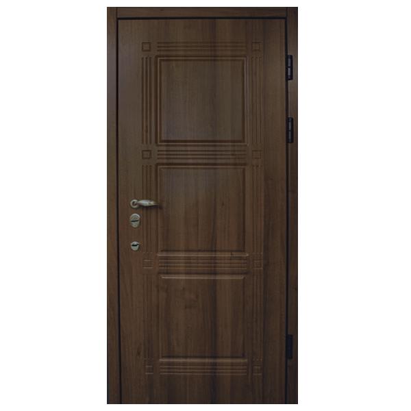 """Входная дверь """"Форте 7"""" (орех темный)"""
