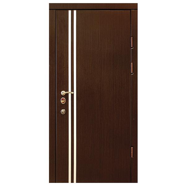 """Входная дверь """"Форте 8"""" (орех темный)"""