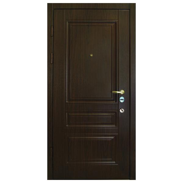 """Входная дверь """"Тесоро 3"""" (венге)"""