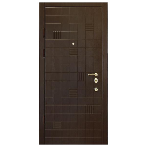 """Входная дверь """"Тесоро 5"""" (орех темный)"""